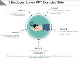 5 Employee Survey Ppt Examples Slide