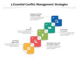 5 Essential Conflict Management Strategies