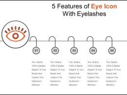 5 Features Of Eye Icon With Eyelashes