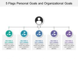 5 Flags Personal Goals And Organizational Goals