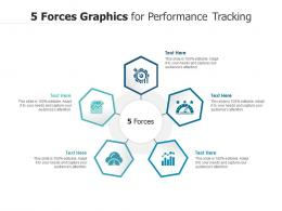 5 Forces Graphics For Performance Tracking Infographic Template
