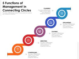 5 Functions Of Management In Connecting Circles