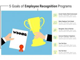 5 Goals Of Employee Recognition Programs