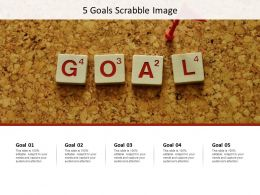5 Goals Scrabble Image