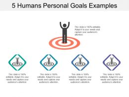 5 Humans Personal Goals Examples