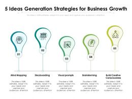 5 Ideas Generation Strategies For Business Growth