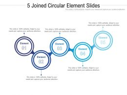 5 Joined Circular Element Slides