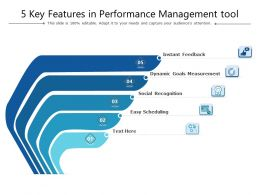 5 Key Features In Performance Management Tool