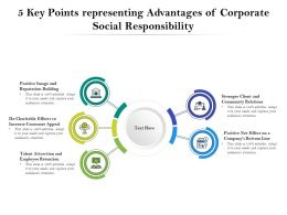 5 Key Points Representing Advantages Of Corporate Social Responsibility