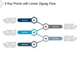 5 Key Points With Linear Zigzag Flow