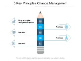 5 Key Principles Change Management Ppt Powerpoint Presentation Slides Cpb