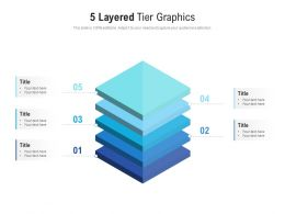 5 Layered Tier Graphics