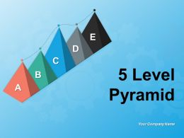 5 Level Pyramid Covering Different Stages Of Process Management Business