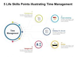 5 Life Skills Points Illustrating Time Management