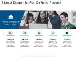 5 Linear Diagram For Plan De Retiro Personal Infographic Template