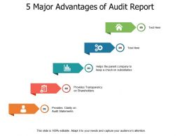 5 Major Advantages Of Audit Report