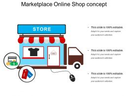 5 Marketplace Online Shop Concept