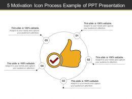 5_motivation_icon_process_example_of_ppt_presentation_Slide01