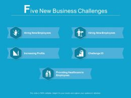 5 New Business Challenges