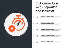5 Optimize Icon With Stopwatch And Indicator