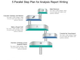 5 Parallel Step Plan For Analysis Report
