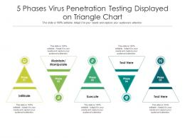 5 Phases Virus Penetration Testing Displayed On Triangle Chart