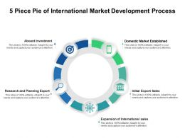 5 Piece Pie Of International Market Development Process