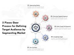 5 Pieces Gear Process For Defining Target Audience By Segmenting Market