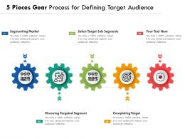 5 Pieces Gear Process For Defining Target Audience