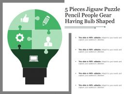 5_pieces_jigsaw_puzzle_pencil_people_gear_having_bulb_shaped_Slide01