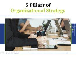 5 Pillars Of Organizational Strategy Powerpoint Presentation Slides