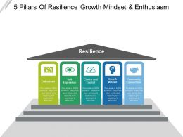 5 Pillars Of Resilience Growth Mindset And Enthusiasm