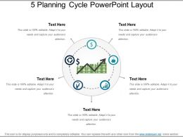 5 Planning Cycle Powerpoint Layout