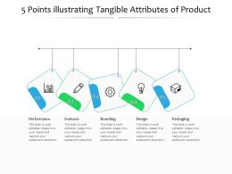 5 Points Illustrating Tangible Attributes Of Product