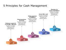 5 Principles For Cash Management