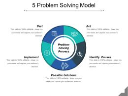5 Problem Solving Model Powerpoint Ideas