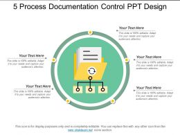 5 Process Documentation Control Ppt Design