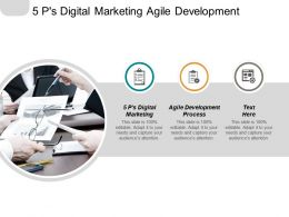 5 Ps Digital Marketing Agile Development Process Decision Tree Cpb