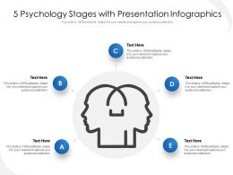 5 Psychology Stages With Presentation Infographics