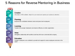5 Reasons For Reverse Mentoring In Business