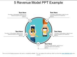 5 Revenue Model Ppt Example