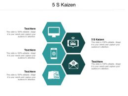 5 S Kaizen Ppt Powerpoint Presentation File Mockup Cpb