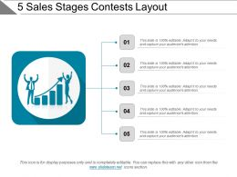 5 Sales Stages Contests Layout