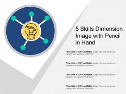 5 Skills Dimension Image With Pencil In Hand