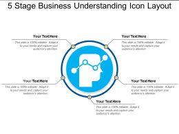 5 Stage Business Understanding Icon Layout