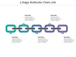 5 Stage Multicolour Chain Link