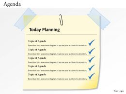 5 Staged Agenda Planning Diagram 0114