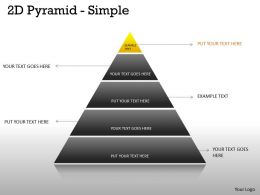 5 Staged Business Pyramid Design