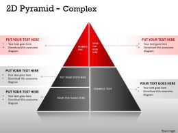 5 Staged Pyramid Design For Sales