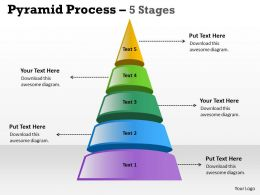 5 Staged Triangle Design For Business